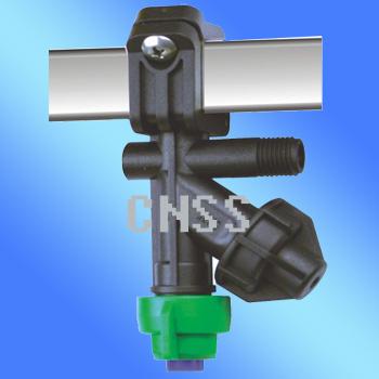 Diaphragm check valve nozzle SQ clamp